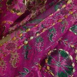 Cotton Designer Adda Work Fabric