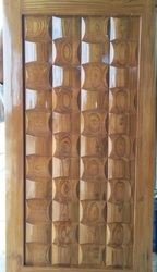 CNC Carving Teak Wood Main Door