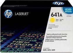 HP C9722A 641A Yellow Toner Cartridge