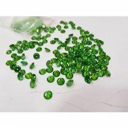 5 mm Green American Diamond Stone
