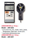 Anemometer with Temperature AM4202