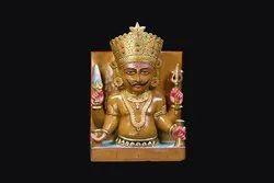 Nakoda Bhairav Marble Statue