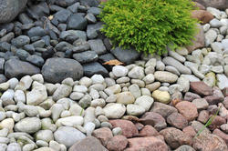 Outdoor Pebble Stone Landscaping Pebbles