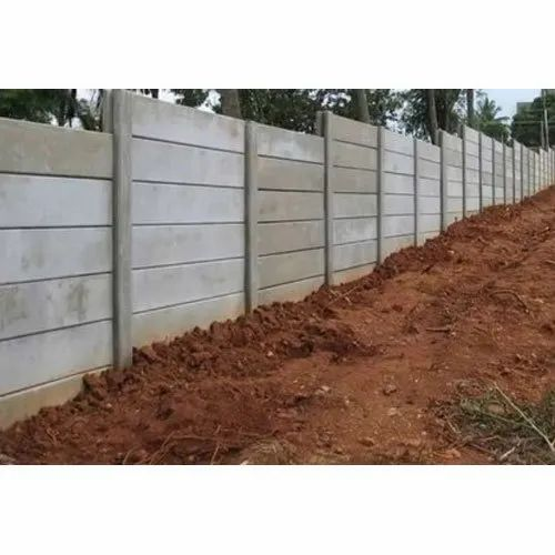 Prefab RCC Compound Wall, Thickness: 2-3 Inch (Wall Thickness), For Construction