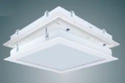 Frame SS Crompton Recessed Top Opening LED Clean Room Luminaire 2x2 24 Watts for Office