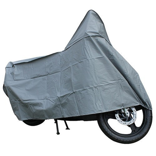 Silver Matty Motorcycle Cover