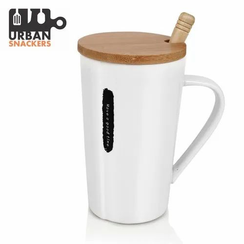 White Porcelain Coffee Mug