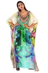 Georgette Digital Printed Kaftan