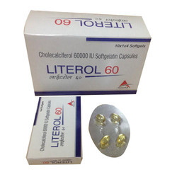 Cholecalciferol 60000 IU Softgelatin Capsules