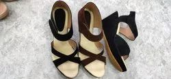 Party Wear Ladies Wedges Sandals