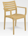 Supreme 820mm Empire Cane Premium Chairs With Arm