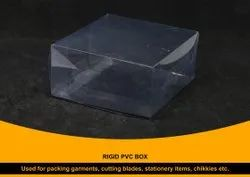 Rigid Blister PVC Box
