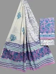 Rapit Kalamkari Print Cotton Dupatta Fabric