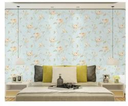 Paper Matte Flower Design Wallpaper, 2 Feet