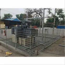 SS Transformer Fencing, Material Grade: SS306