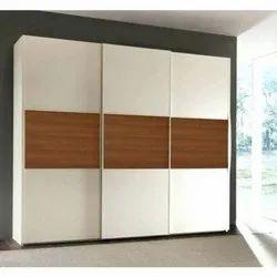 5 Elements Wooden Sliding Wardrobe, Warranty: More Than 5 Year