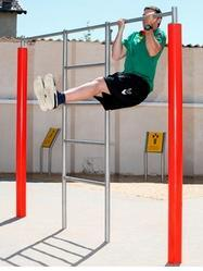 Double Pull Up Bars