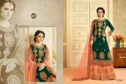 Full Sleeve Sarara Salwar Suit