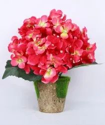Artificial Hydrangea Flower Arrangement