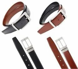 Brown Leatherette Belt