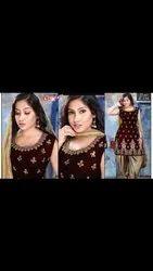Ladies Cotton Patiala Salwar Suit