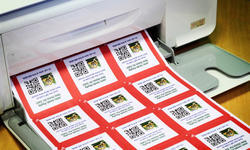 Barcode Sticker Printing Service