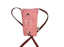 Canvas Mobile Sling Bag
