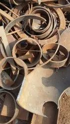 Black Mild Steel MS Round Cutting Scraps, For Metal Industry, Packaging Type: Loose