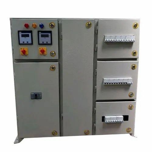 Semi-Automatic Single Phase Mild Steel Distribution Panel, IP Rating: IP33