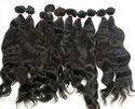 Virgin Wavy Hair Extensions