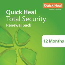 Quick Heal Total Security Renewal Pack 1Pc - 1 Years