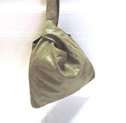 Genuine Leather Single Handle Hobo Bag