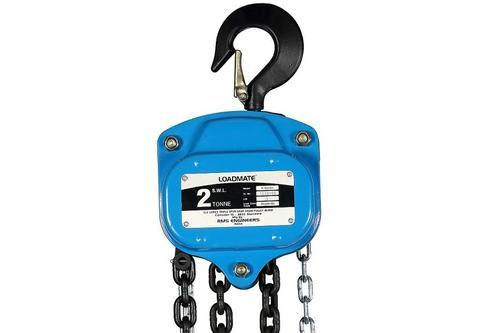 500KG 0.5T 6M Lift Tackle Brake Manual 0.5 Ton 6 Metre Chain Hoist Block