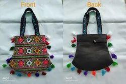 Kutchi Work Embroidery Handicraft Shoulder Bag