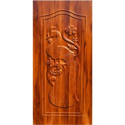 GPD 2F Carved Wooden Door