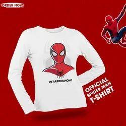 Polyester Full Sleeve T-Shirt