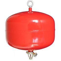 Mild Steel A B C Dry Powder Type Ceiling Mounted Fire Extinguisher, For Industrial