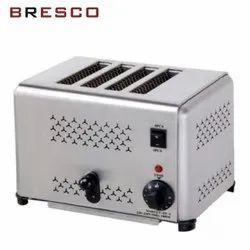 240 V Stainless Steel Slice Pop-Up Toaster, Model Number: ST-4