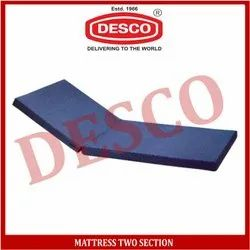 DESCO Blue Mattress Two Section, For Hospital
