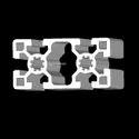 LM 45x90 Aluminium Profile Extrusions Heavy