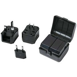 Black Smartcraft The MNC , International Travel Power Plug Adapter