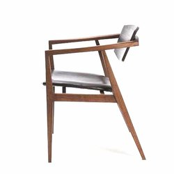 Polished Termite Proof Designer Wooden Chair