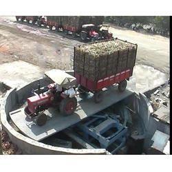 Rotating Type Cane Dumping Platform