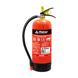 Mitras Water Stored Pressure Fire Extinguisher - 9 Litre