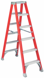 Two Side Mechanical Step Ladder
