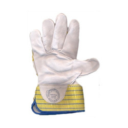 Chrome Leather Reversible Hand Gloves