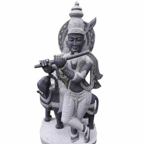d2fd75b67 Krishna Stone Sculpture at Rs 9500  piece