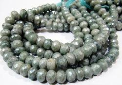 AAA Quality Genuine Green Silverite Gemstone Bead
