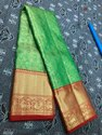 Wedding Wear Pure Kanchipuram Full Tissue Bridal Silk Sarees