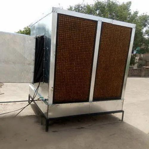 Metal Evaporator Duct Air Cooler, Capacity: 400 ltr